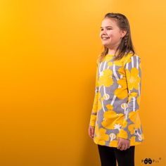 PaaPii Design NELLI tunic, Buttercup Buttercup, Tunic, Leggings, Blouse, Long Sleeve, Sleeves, Black, Tops, Design