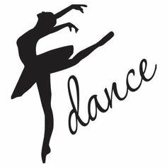 Silhouette of dancing girl stock vector. Illustration of ... |Pretty Girl Dance Stencil