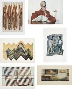 JIRI KOLAR, Group of 6 collages. PHILLIPS : NY030110,
