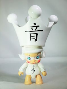 Kennyswork Little Molly Qee Special 2 toy2r Key Chain Collection YIN YIN White Secret Character
