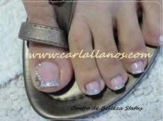 Pretty Toe Nails, Cute Toe Nails, Toe Nail Art, Pedicure Colors, Pedicure Designs, Toe Nail Designs, Purple And Pink Nails, Burgundy Nails, Mac Nail Polish