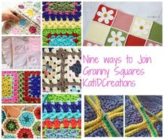 9 Ways to Join Granny Squares | #crochet Roundups on CrochetStreet.com