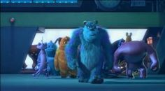 "There is a slow motion scene of the movie ""Monsters Inc"" where the scare monsters walk onto the scare floor. This is how I see our team when we're walking into the NICU at the beginning of our shift, hehe!"
