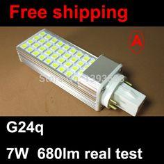 $15.30 (Buy here: https://alitems.com/g/1e8d114494ebda23ff8b16525dc3e8/?i=5&ulp=https%3A%2F%2Fwww.aliexpress.com%2Fitem%2FG24q-1-G24q-2-G24q-3-LED-pl-8W-36led-5050SMD-AC85-265V-LED-plug-bulb%2F2025827848.html ) G24q base pl 7W 36led 5050SMD Corn Light Bulb downlight Lamp Lighting Warm White/Cool White AC 85v-265V for just $15.30