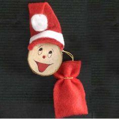 Ver más grande Imán Papá Noel con Saco