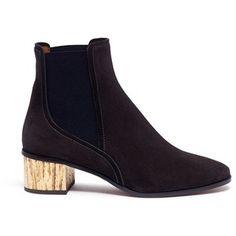 Chloé 'Qassie' suede Chelsea boots