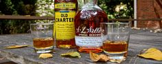 WL Weller and Old Charter Bourbon Whiskey