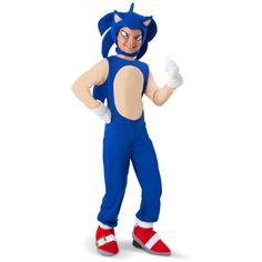 COSTUME - SUPER MARIO - SONIC - DIY - Sonic the Hedgehog - Sonic Kids Costume
