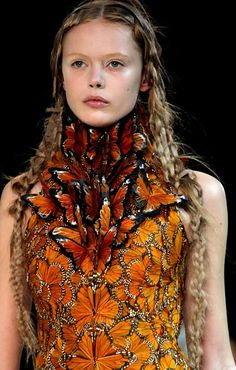 Cool Chic Style Fashion: Alexander McQueen Spring/Summer 2011 Collection details