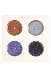 Glittery eyes with the shimmer dust set from our galactic make up collection. #Topshop #makeup #galactica