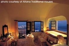 Romantic honeymoon suite Santorini Greece, Altana