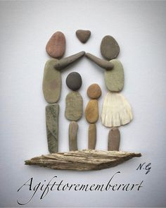 Pebble Art Diy Projects Inspiration 32 New Ideas Kids Crafts, Diy And Crafts, Arts And Crafts, Art Crafts, Stone Crafts, Rock Crafts, Pebble Painting, Stone Painting, Rock Painting