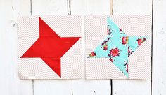do. Good Stitches Block Tutorial and August Bee Blocks