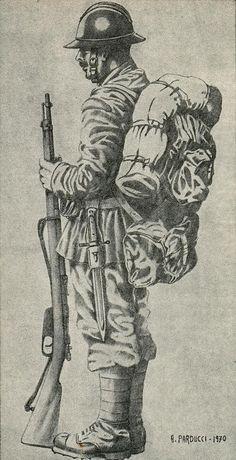 """Regio Esercito - Fante della Brigata """"Sassari"""", 1815-18"""