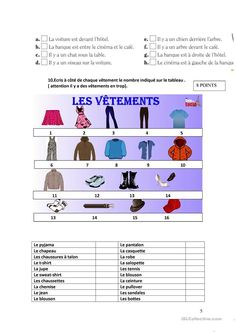 Contrôle niveau 1 « Les sorties et les loisirs » - Français Fle Fiches Pedagogiques High School French, French Class, French Teacher, Teaching French, Movie Talk, Core French, Learn French, Comprehension, Teacher Resources