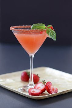 Strawberry Cocktail Rimming Sugar