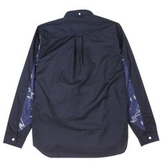 Bluesville / Navy Gunung Dyer's Sleeve Shirt - Natural Indigo / Easy Styled Garments