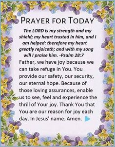 Good Evening Soldiers Of Christ! Arise and Put On the Armor Of Our Lord! Today's Prayer for the Day Psalms Let's Walk Together Victorious! Prayer Times, Prayer Verses, God Prayer, Daily Prayer, Beautiful Morning Quotes, Good Morning Inspirational Quotes, Good Morning Prayer, Morning Prayers, Psalm 28 7