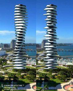 rascacielos giratorios