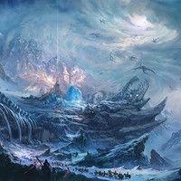 Mountain  by MaoYong Liu on ArtStation.