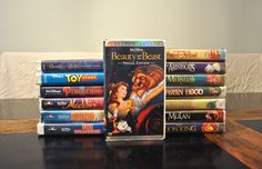 FREE SHIPPING Beauty and the Beast VHS by VioletsFlowersClips