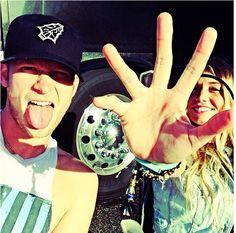 BK and Brittney ❤️
