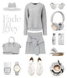 Unbenannt #701 by fashionlandscape on Polyvore featuring Mode, TIBI, Ports 1961, Givenchy, Christian Dior, Janessa Leone, Nails Inc. and S'well