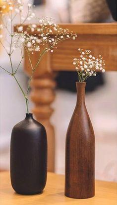 www.estudiocruzeta.com.br Bottle, Home Decor, Vases, Decorate Bottles, Decoration Home, Room Decor, Flask, Home Interior Design, Jars