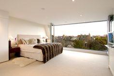Conversion of Old Dairy - contemporary - Bedroom - London - Thomas de Cruz Architects & Designers loft Contemporary Bedroom, Modern Bedroom, Interior Color Schemes, Interior Design, Next Bedroom, Master Bedroom, Victorian Bedroom, Loft Spaces, Beautiful Bedrooms