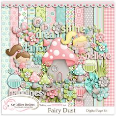 Fairy Dust Page Kit