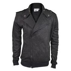Biker vest grey http://mymenfashion.com/biker-vest-grey-black.html