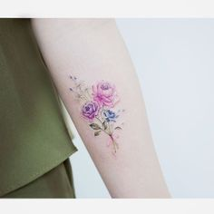 Watercolor Tattoos K Watercolor Tattoos Korean Style