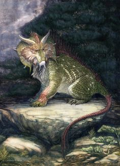 Nian - Resembling reptilian hybrids of rhinoceroses and lions, these Chinese creatures live both underwater and in mountainous areas. They will venture down towards civilisation in the Winter, when food is scarce, and feed on crops and villagers. The creatures supposedly have a fear of loud noises, the colour red and fire.