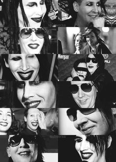 Manson smiles ♥  This is the most adorable thing I have ever seen!
