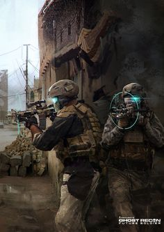 Ghost Recon Future Soldier Official Art #4 by DarkApp