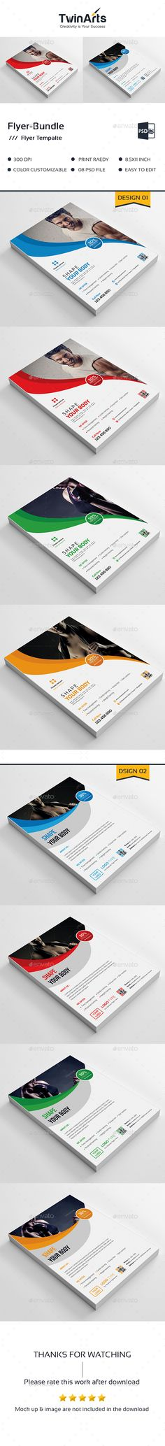 Fitness Flyer Business flyers, Template and Flyer printing - fitness flyer template