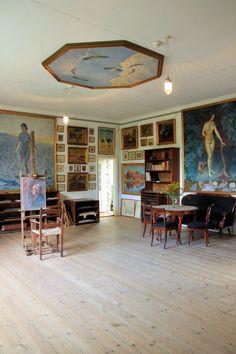 Johannes Larsen museet, Kerteminde Danmark