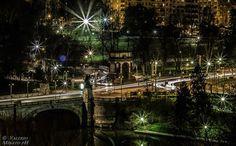 Parco del Valentino e fiume Po, Torino.