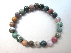 Protection bracelet healing stones anxiety by JewelryArtShop https://www.etsy.com/listing/398858207/protection-bracelet-healing-stones?ref=shop_home_active_3