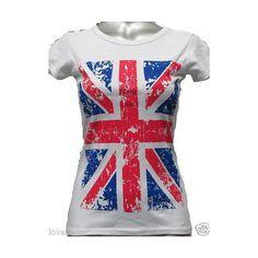 NEW Women ladies Great Britain union jack flag team GB vest top... ❤ liked on Polyvore