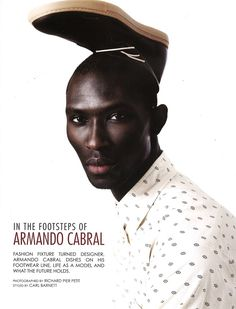 armando cabral  represented by Wilhelmina International Inc.