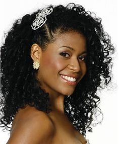 Penteados de verão para cabelos afro - Top Mulher