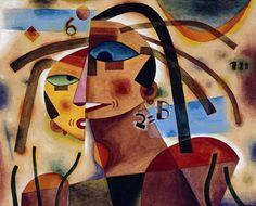 Arte latinoamericano siglo XX | Malba ALEJANDRO XUL SOLAR Pareja, 1923  © Derechos reservados Fundación Pan Klub - Museo Xul Solar
