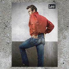 美國經典影星James Dean著住Lee牛仔褲演出多部青春電影,風靡歐美年青一代,佢嘅形象引領牛仔褲衝破舊有框架,讓全城都著牛仔褲,成為當代時裝嘅潮流指標。#Lee125