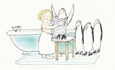 from 'The Way to the Zoo' by John Burningham (Walker/Candlewick 2014)