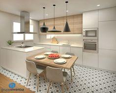 32 Open Concept Kitchen Room Design Ideas for Dummies - homemisuwur Kitchen Design Small, Kitchen Remodel, Kitchen Decor, Modern Kitchen, Kitchen Living, Kitchen Room Design, Kitchen Room, Kitchen Interior, Kitchen Layout