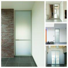 Glazen design deuren op maat van Anyway Doors.