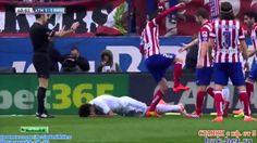 Pepe Horrible Dive ! Atlético Madrid vs Real Madrid 2-2