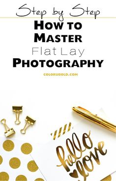 How to master flat lay photography