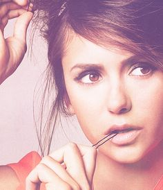 Nina Dobrev ~ Elena Gilbert from The Vampire Diaries ♥